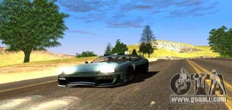 ENB Graphic Mod for GTA San Andreas fifth screenshot