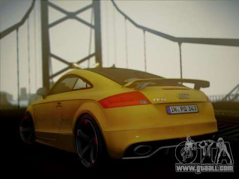 Audi TT RS 2013 for GTA San Andreas left view
