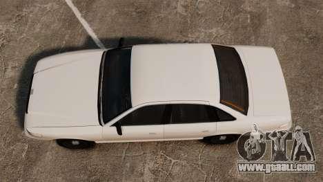 A civilian taxi for GTA 4 right view