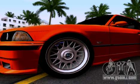 BMW M3 E36 for GTA San Andreas inner view