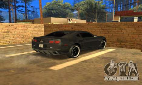 Chevrolet Camaro ZL1 2013 County Sheriff for GTA San Andreas left view