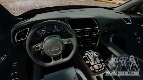 Audi RS4 Avant 2013 Sport v2.0 for GTA 4 inner view