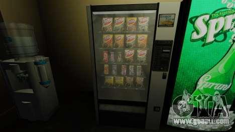 New snèkovyj vending machine for GTA 4