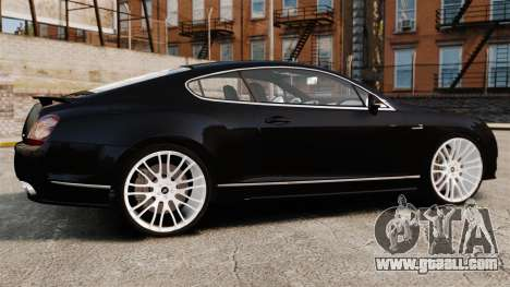 Bentley Continental GT Imperator Hamann EPM for GTA 4 left view