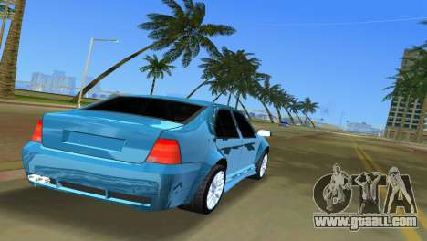 Volkswagen Bora for GTA Vice City back left view