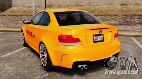 BMW 1M Coupe 2011 Fujiwara Tofu Shop Sticker for GTA 4 right view