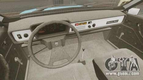 Dacia 1310 Sport v1.2 for GTA 4 inner view