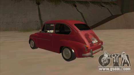 Zastava 750 Fico for GTA San Andreas right view