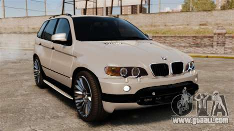 BMW X5 4.8iS v2 for GTA 4