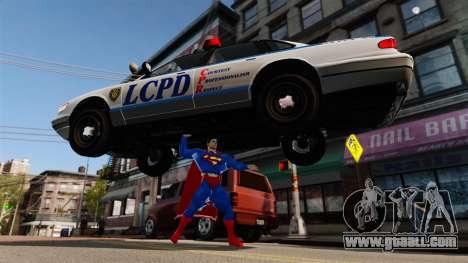Script For Superman for GTA 4 ninth screenshot