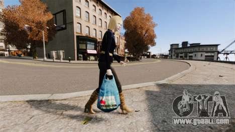 Packages with the logo of Chevy Chase for GTA 4