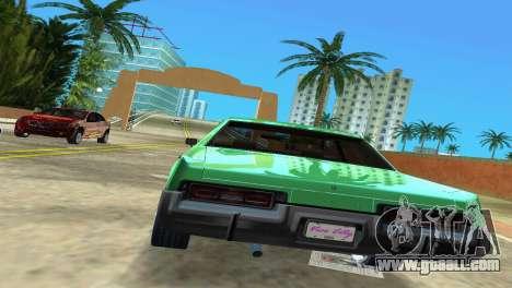 Dodge Monaco Police for GTA Vice City right view