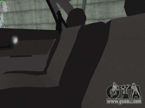 VAZ-2170 for GTA San Andreas interior