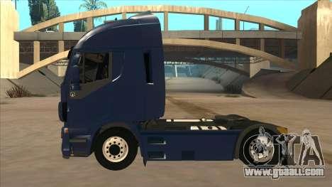 Iveco Stralis HI-WAY for GTA San Andreas back left view