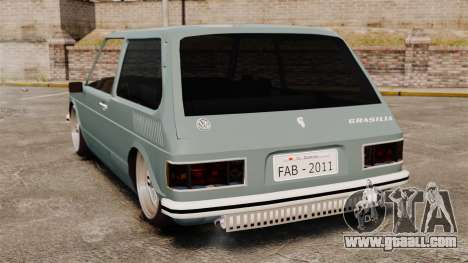 Volkswagen Brasilia for GTA 4 back left view