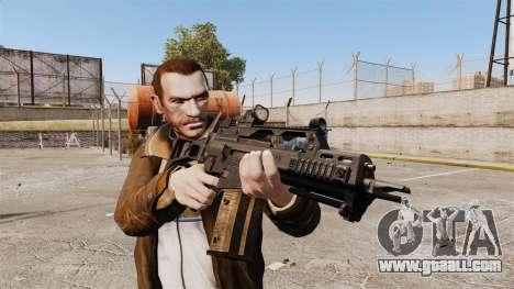 HK G36c for GTA 4 third screenshot