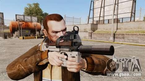 Belgian FN P90 submachine gun v3 for GTA 4 third screenshot