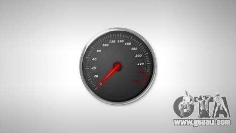 Speedometer AdamiX v5 for GTA 4
