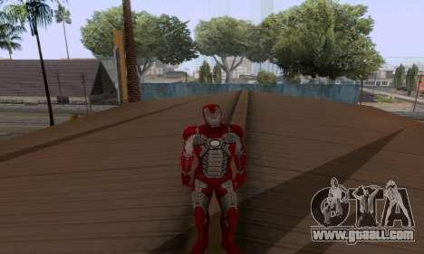Skins Pack - Iron man 3 for GTA San Andreas eighth screenshot