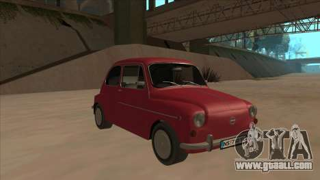 Zastava 750 Fico for GTA San Andreas left view