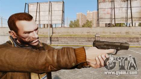 Walther P99 semi-automatic pistol v4 for GTA 4
