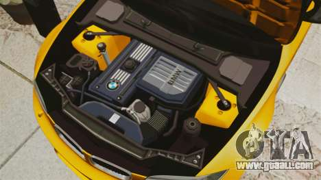 BMW 1M Coupe 2011 Fujiwara Tofu Shop Sticker for GTA 4 side view