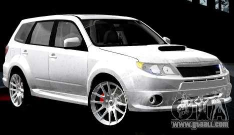 Subaru Forester RRT Sport 2008 v2.0 for GTA San Andreas interior