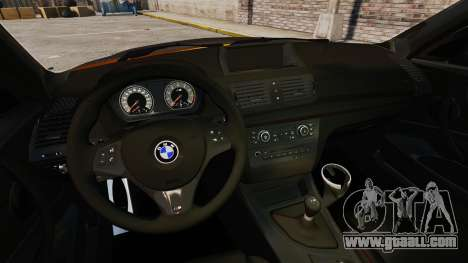 BMW 1M Coupe 2011 Fujiwara Tofu Shop Sticker for GTA 4 back left view