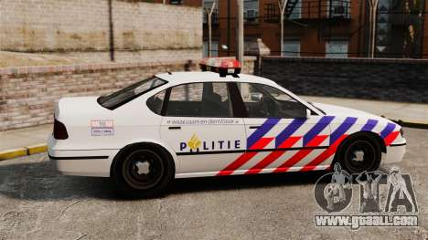 Dutch Police for GTA 4 left view