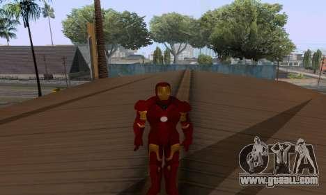 Skins Pack - Iron man 3 for GTA San Andreas tenth screenshot