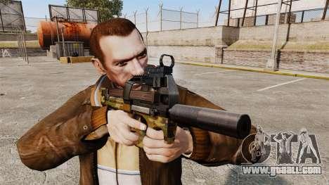 Belgian FN P90 submachine gun v5 for GTA 4 third screenshot