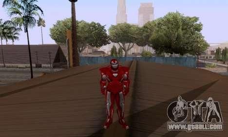 Skins Pack - Iron man 3 for GTA San Andreas forth screenshot