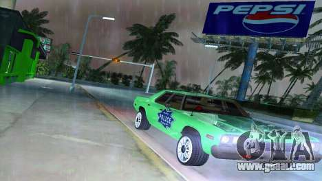 Dodge Monaco Police for GTA Vice City back view