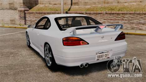Nissan Silvia S15 v1 for GTA 4 back left view