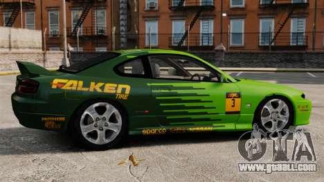 Nissan Silvia S15 v3 for GTA 4 left view