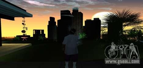 ENB Graphic Mod for GTA San Andreas second screenshot