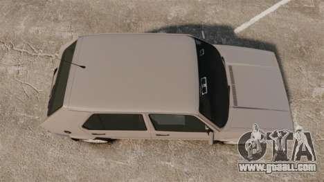 Volkswagen Citi Golf Velociti 2008 for GTA 4 right view