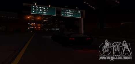 ENB Graphic Mod for GTA San Andreas eighth screenshot