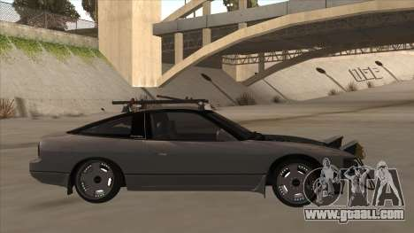 Nissan 240SX Rat for GTA San Andreas back left view
