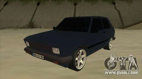 Zastava Yugo 1.1 for GTA San Andreas