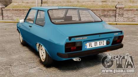 Dacia 1310 Sport v1.2 for GTA 4 back left view