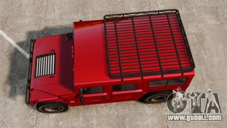 Hummer H1 for GTA 4 right view