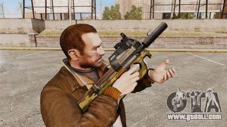 Belgian FN P90 submachine gun v5 for GTA 4