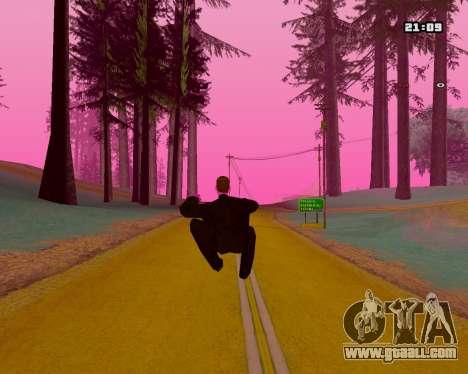 Pink NarcomaniX Colormode for GTA San Andreas forth screenshot