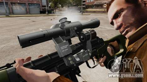 Dragunov sniper rifle v3 for GTA 4 forth screenshot