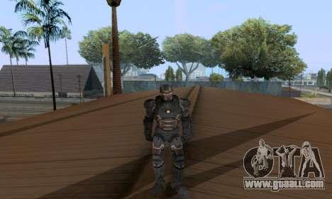 Skins Pack - Iron man 3 for GTA San Andreas