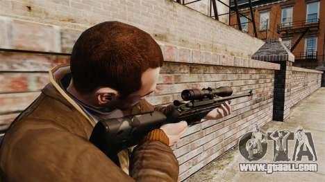Sniper rifle Sako TRG-42 for GTA 4 second screenshot