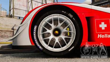 Porsche RS Spyder Evo for GTA 4 back view