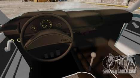 Volkswagen Brasilia for GTA 4 inner view