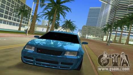 Volkswagen Bora for GTA Vice City back view